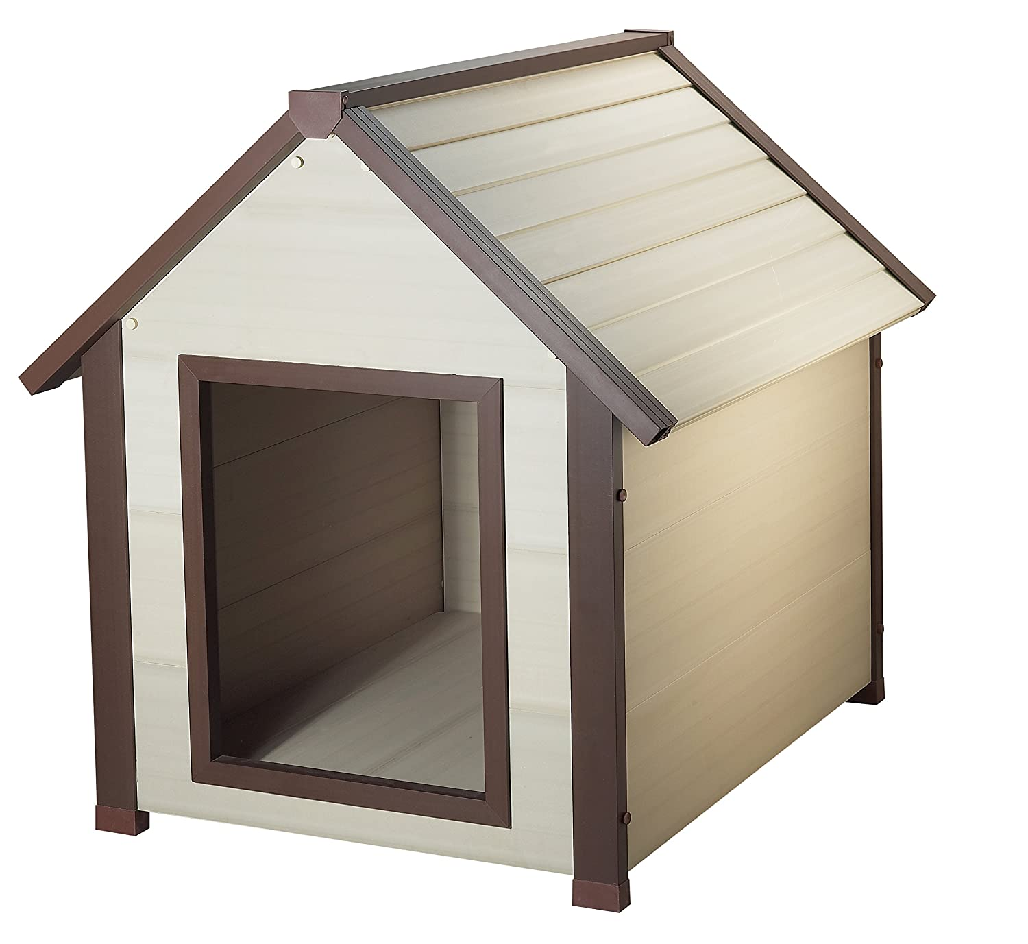 Amazon ecoFLEX ThermoCore Cottage Style Dog House Pet Supplies