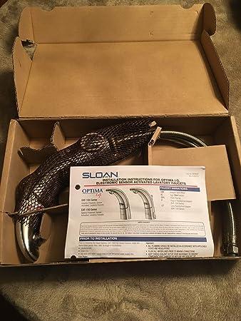 Sloan EAF-150-ISM-IC CP Bathroom Faucet, Optima I.Q. Battery ...