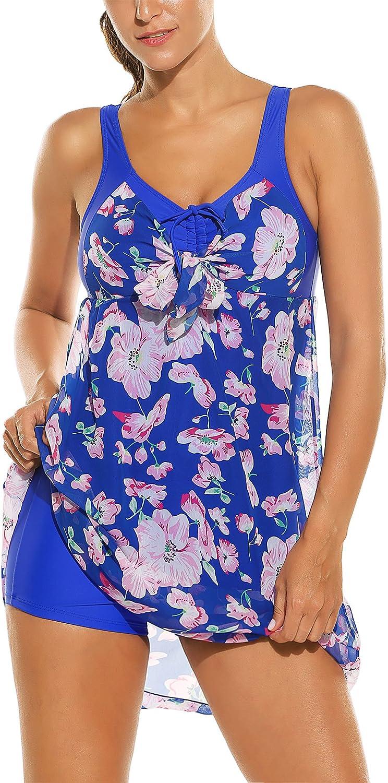 con stampa floreale Balancora da spiaggia in chiffon Costume da bagno intero da donna con costume da bagno colorato