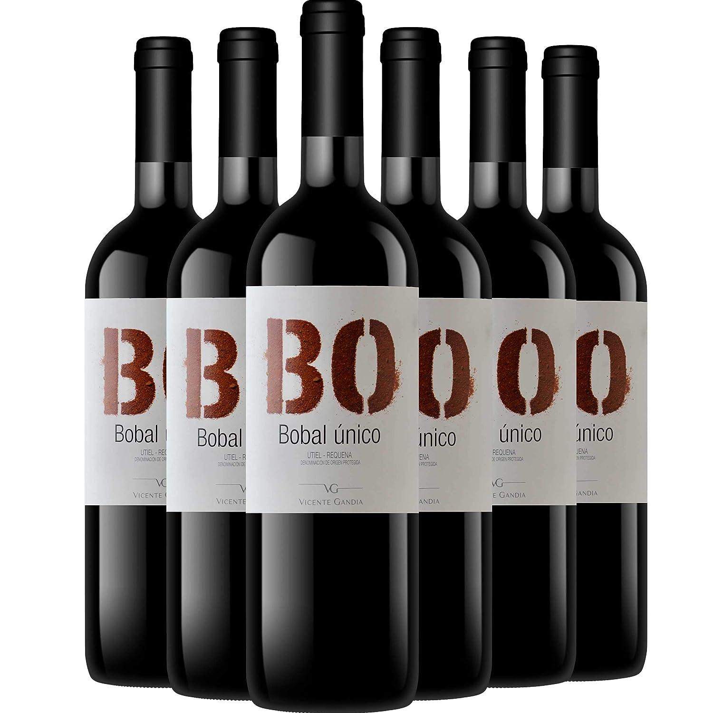 Bo Bobal único 6x75 cl. D.O. Utiel Requena: Amazon.es ...