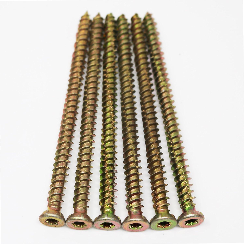 Tornillos avellanados para hormig/ón T30 51 unidades M7,5 x 120 mm T.K.Excellent