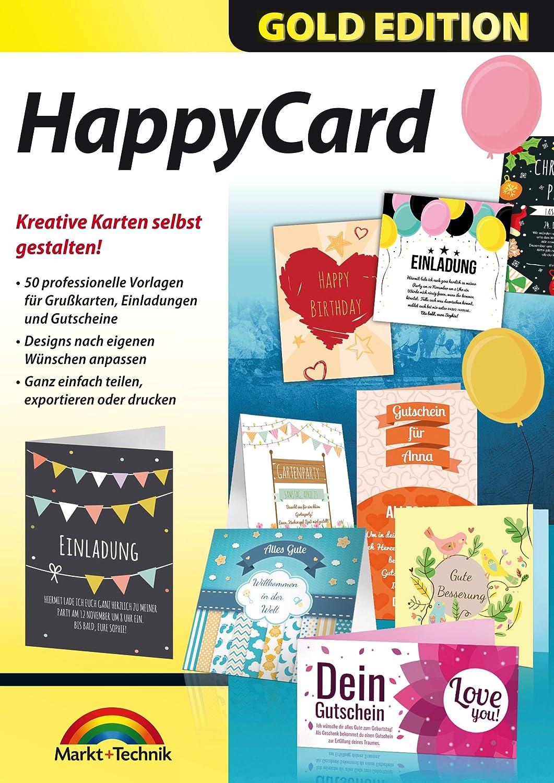 HappyCard Einladungen, Glückwunschkarten, Gutscheine selbst ...