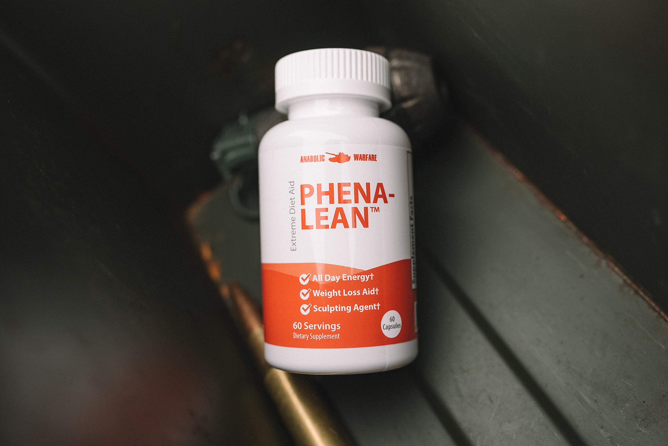 Phena-Lean Thermogenic Fat Burner Supplement by Anabolic Warfare - Aids Weight Loss Efforts, Boosts Energy and Focus (60 Capsules) by Anabolic Warfare (Image #4)