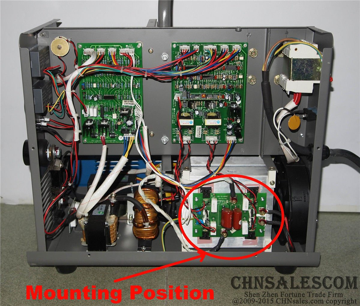 CHNsalescom JASIC IGBT Inverter Board MIG-250 J04 MIG-270 N248 MIG/MAG Welder 10001929: Amazon.es: Bricolaje y herramientas