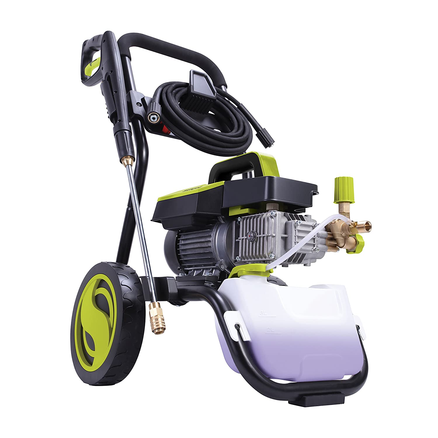 Amazon.com : Sun Joe SPX9005-PRO Commercial Series 1300 PSI 2 GPM Max 2.15 HP Brushless Induction Motor Pressure Washer, w/Wall Mount and Roll Cage : Garden ...