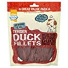Good Boy Pawsley and Co Tender Duck Fillets VALUE PACK 320gm Single Packet