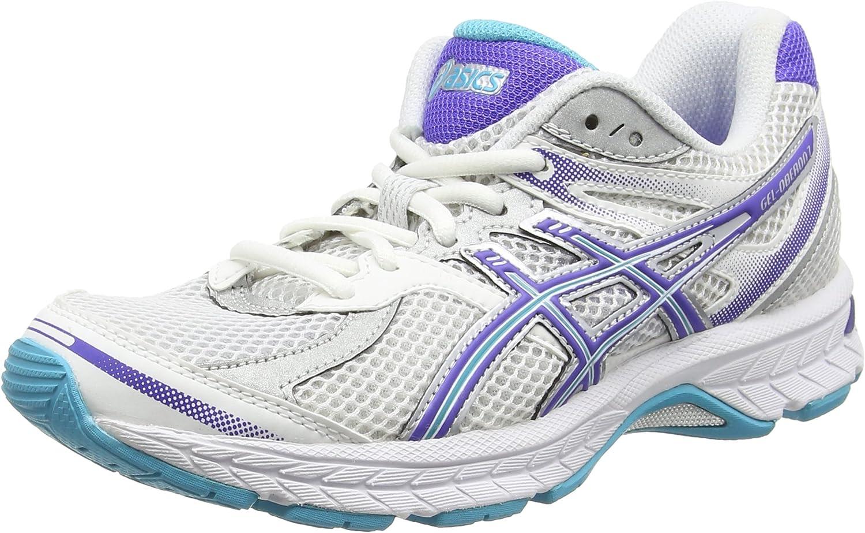 Asics Zapatillas Running Gel-Oberon 7 Blanco/Azul/Gris EU 37: Amazon.es: Zapatos y complementos