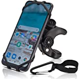 Bike Phone Mount Holder-Universal Clamp, for Bicycle, Stroller, Boat, Golf Cart, Shopping Cart, Fits Apple iPhone, Samsung Ga