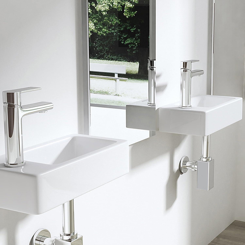 Lavabo vasque a poser ou monter au mur evier design Bruxelles3053R 36x18x9,5 cm