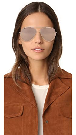2a7811f676c7 Amazon.com  Linda Farrow Luxe Women s Aviator Clip On Sunglasses ...