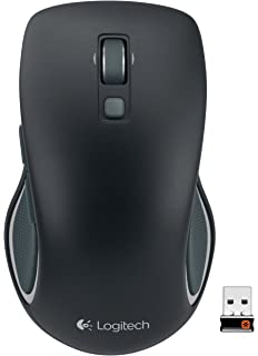08a5e0aa753 Logitech M560 Wireless Mouse – Hyper-fast Scrolling, Full-Size Ergonomic  Design for