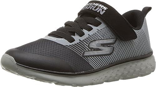 Skechers Jungen Go Run 400 Kroto Sneaker, Charcole Black UETiM