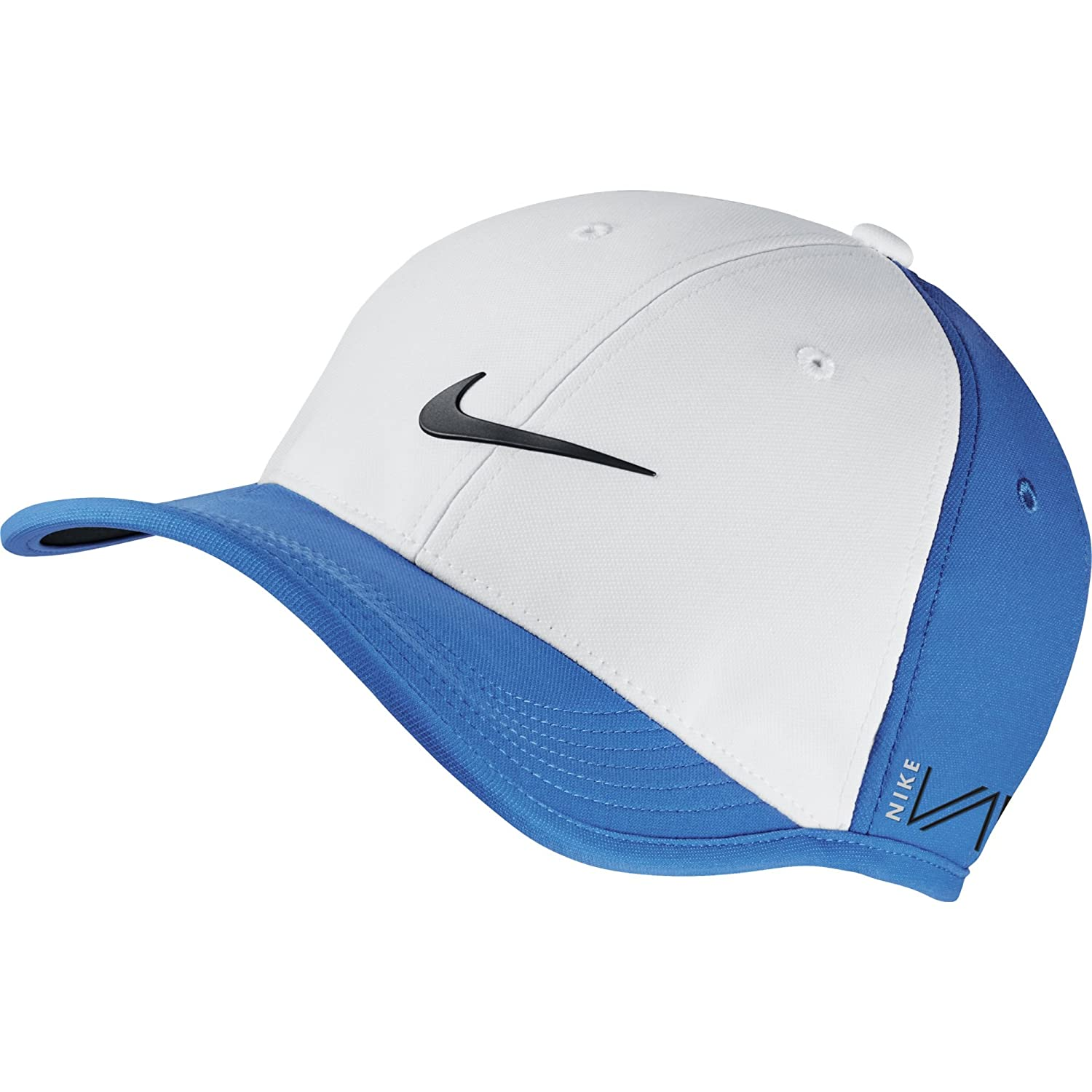 3ad2699c654f1 NEW Nike UltraLight Tour RZN/VAPOR Adjustable White/Photo Blue/Black Hat/Cap,  Tables - Amazon Canada