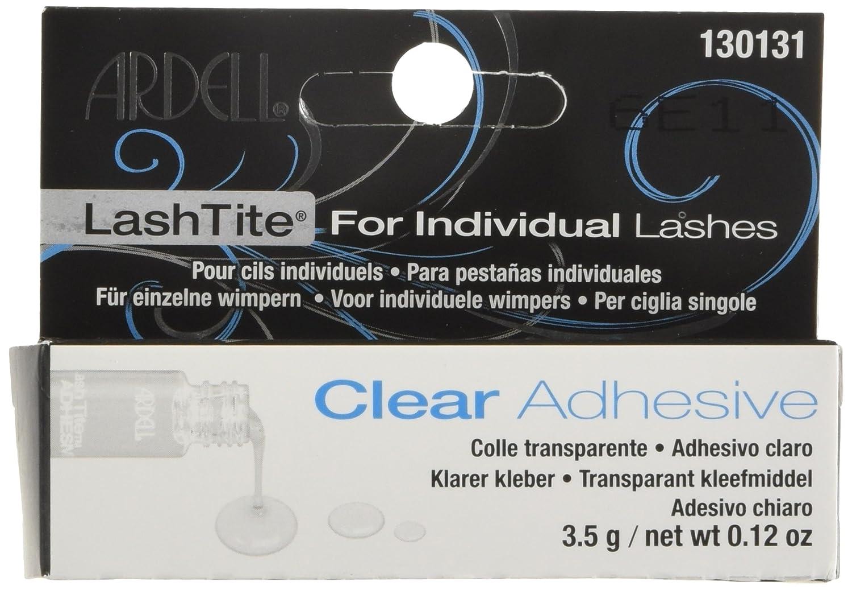 Amazon.com : Ardell Lashtite Adhesive Clear 0.125 Ounce Bottle (Black Package) (3.7ml) : Fake Eyelashes And Adhesives : Beauty
