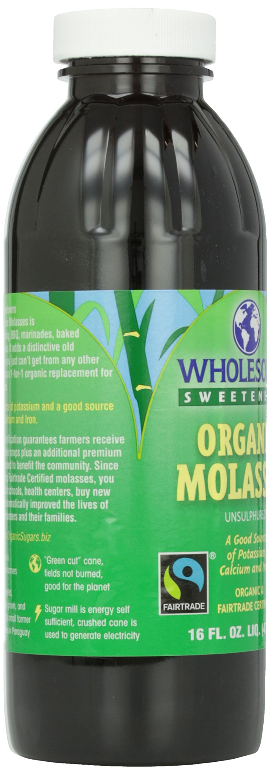 Wholesome Sweeteners, Blackstrap Molasses, 16 oz by Wholesome (Image #8)