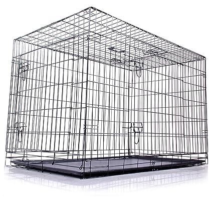 48 pulgadas XXL plegable perro Pet Carrier jaula de caja portable ...