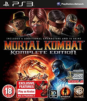 Mortal Kombat - Game of The Year Edition (PS3): Amazon co uk