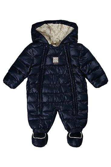 954e85ab9 Kanz Unisex Baby Hooded Snowsuit 0003531 - Blue - 12-18 Months:  Amazon.co.uk: Clothing