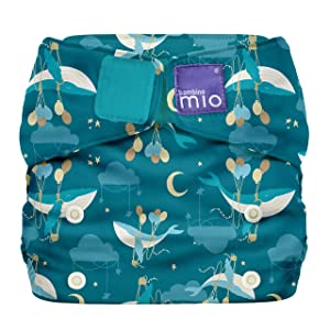 Bambino Mio, Miosolo All-in-One Cloth Diaper, OneSize, Sail Away