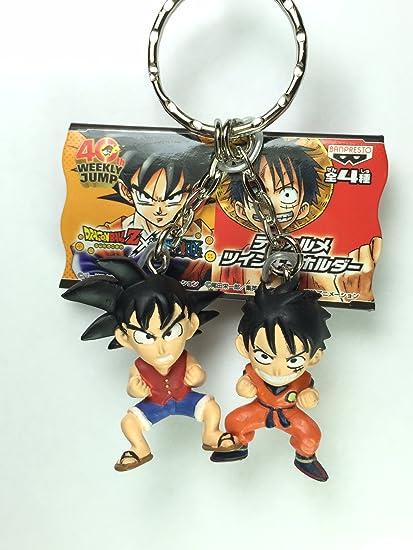 Amazon.com: Goku & Luffy – Jump 40th Anniversary de ...