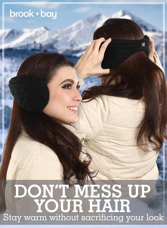 Unisex Ear Muffs Outdoor Winter Ohrenschützer stricken Design faltbare Ohr X5Y6