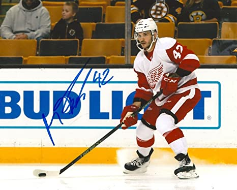 Image Unavailable. Image not available for. Color  MARTIN FRK signed  DETROIT RED WINGS 8X10 ... 7ac7f7de5