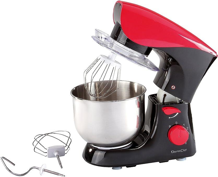 Domoclip Robot De Cocina Negro/Rojo: Amazon.es: Hogar