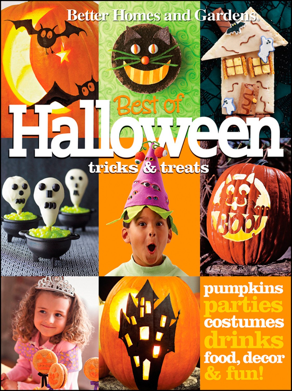 Halloween Tricks & Treats (Better Homes and Gardens) (Better Homes and Gardens Cooking)