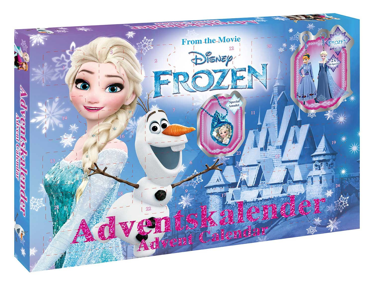 Craze 57309 Calendario de Adviento Disney Frozen Craze_57309