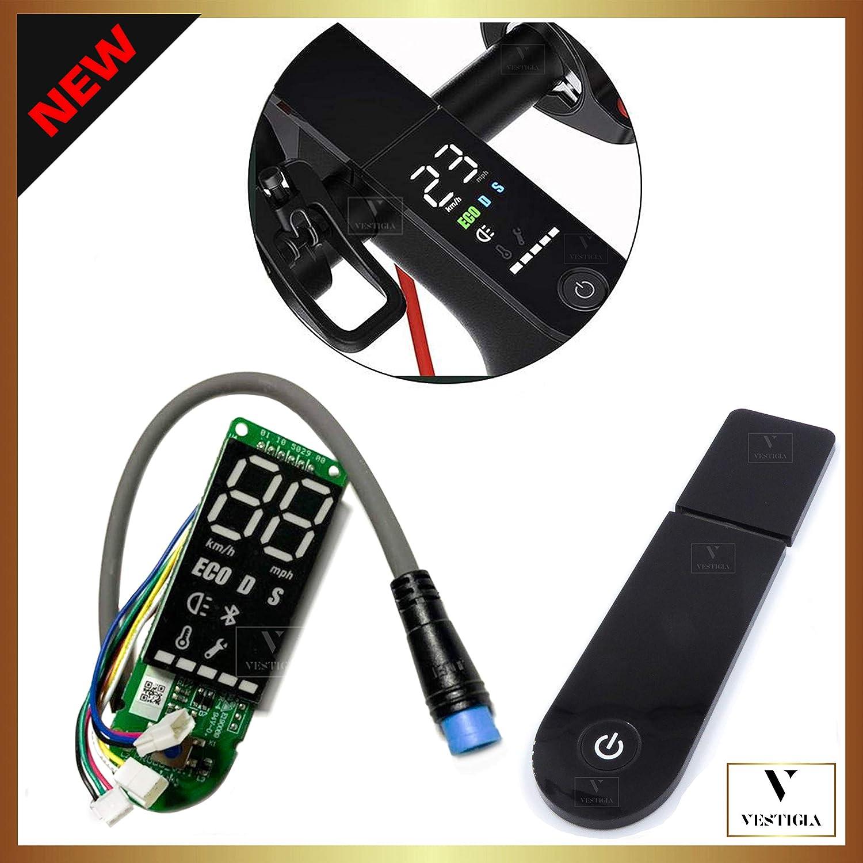 Vestigia® - Tablero de Control para Xiaomi M363 y M365 Pro, Circuito de actualización, Instrumento Bluetooth, Accesorios de reemplazo, Cubierta de OSD
