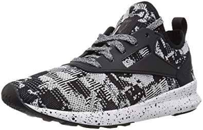 f15d38b7ef9 Reebok Women s Zoku Runner W Sneaker Black White 5 ...