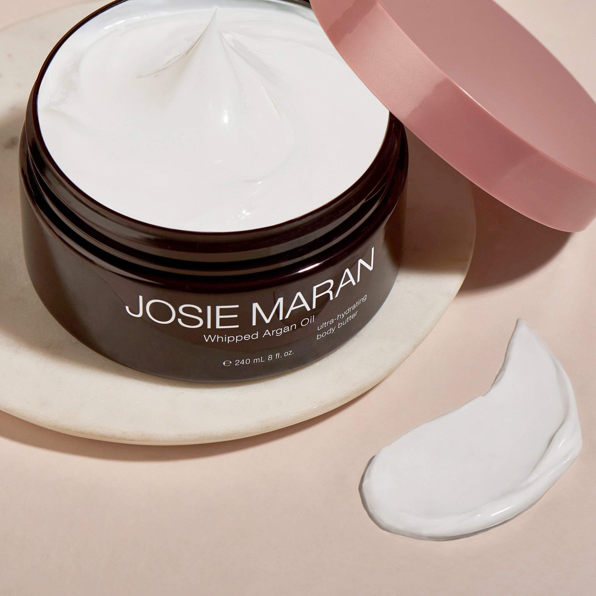 Josie Maran Whipped Argan Oil Body Butter - Immediate, Lightweight, and Long-Lasting Nourishment to Soften and Hydrate Skin (240ml/8.0oz, Vanilla Bean) by Josie Maran (Image #4)