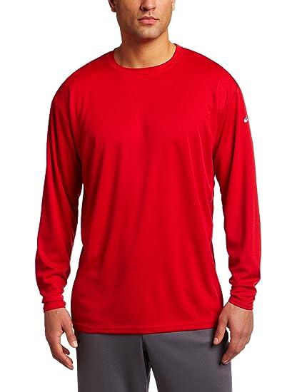 4ef3a52379b969 Amazon.com: ASICS Men's Circuit 7 Warm-Up Long Sleeve Shirt: Clothing
