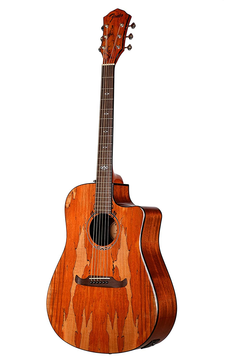 Fender T-Bucket 400CE Spalted Maple FSR Acoustic Electric Guitar