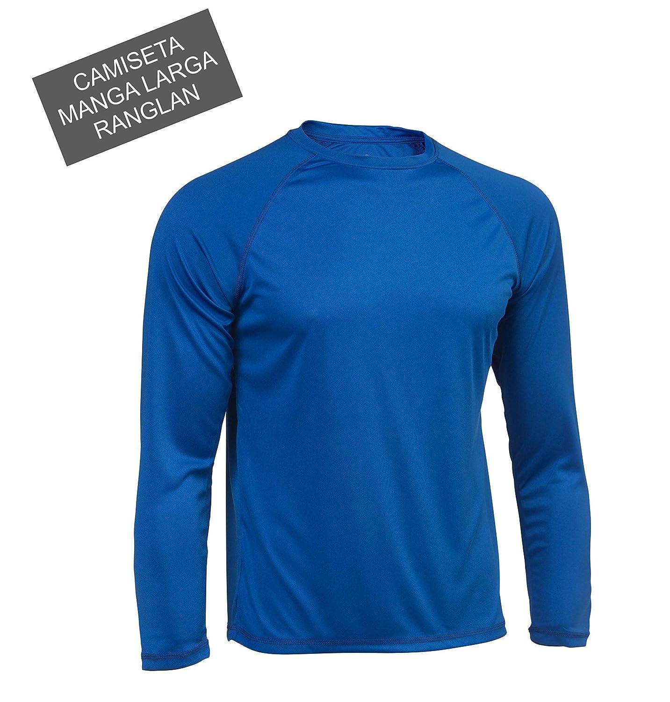 Asioka 300/14 Camiseta Deportiva de Manga Larga, Unisex Adulto: Amazon.es: Deportes y aire libre