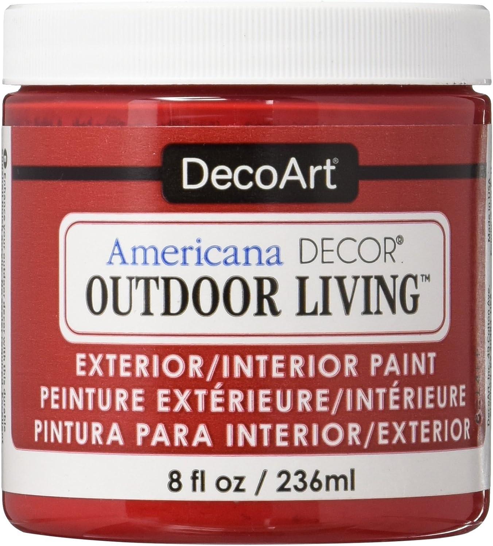 DecoArt Deco Art Americana Outdoor Living 8oz Ladybug, 8 oz