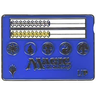 Magic: The Gathering Blue Card Size Abacus Life Counter: Toys & Games