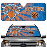 NBA New York Knicks Sun Shade, One Size, One Color