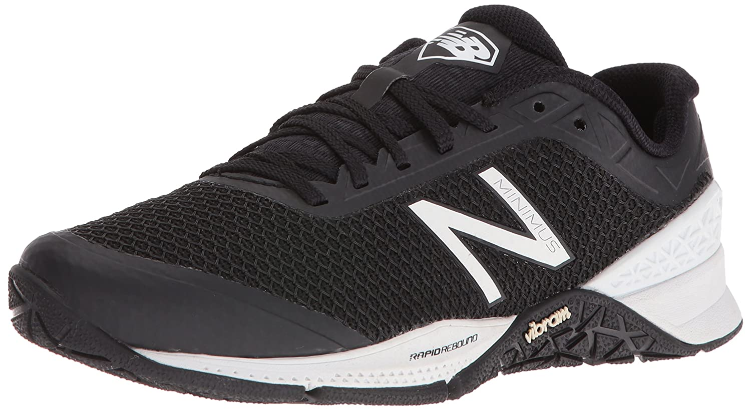 New Balance Women's WX40V1 Cross Trainers B01CQVUJQA 11 D US|Black/White