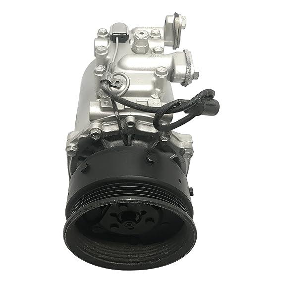 RYC Remanufactured AC Compressor and A//C Clutch FG489