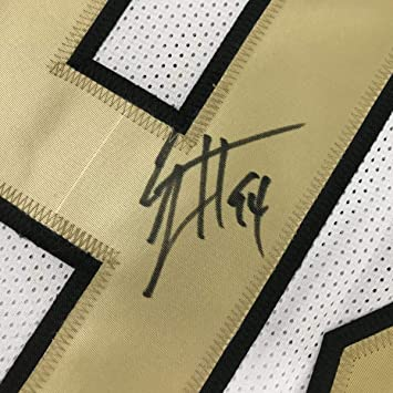 01bdd2b1fa6 Autographed/Signed Cameron Cam Jordan New Orleans Saints Color Rush  Football Jersey JSA COA at Amazon's Sports Collectibles Store