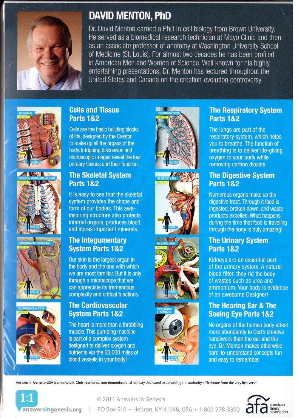 Amazon.com: Body of Evidence: Human Anatomy Answers in Genesis ...