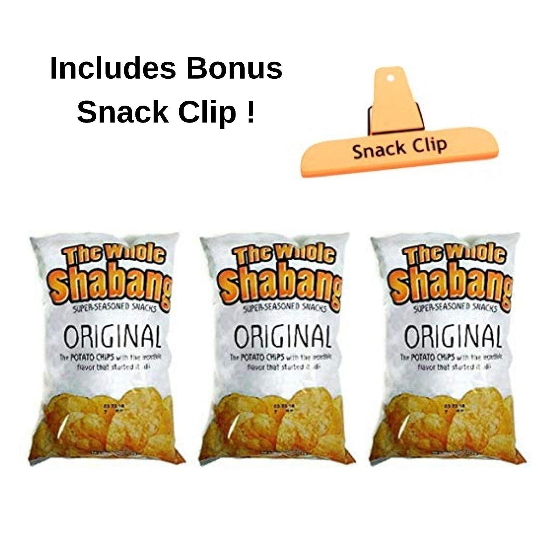 The Whole Shabang Potato Chips - (1) - 6 oz  Bag