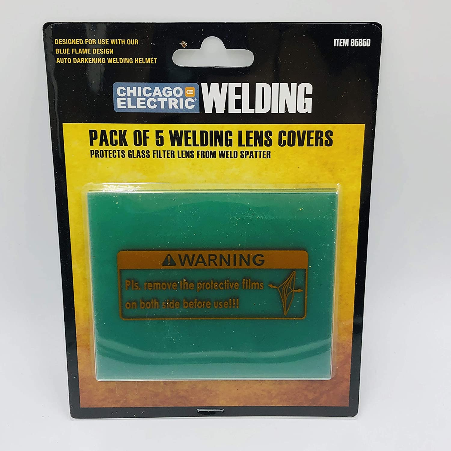 Welding helmet replacement lens cover Electric Outside Cover Lens Filter Shade