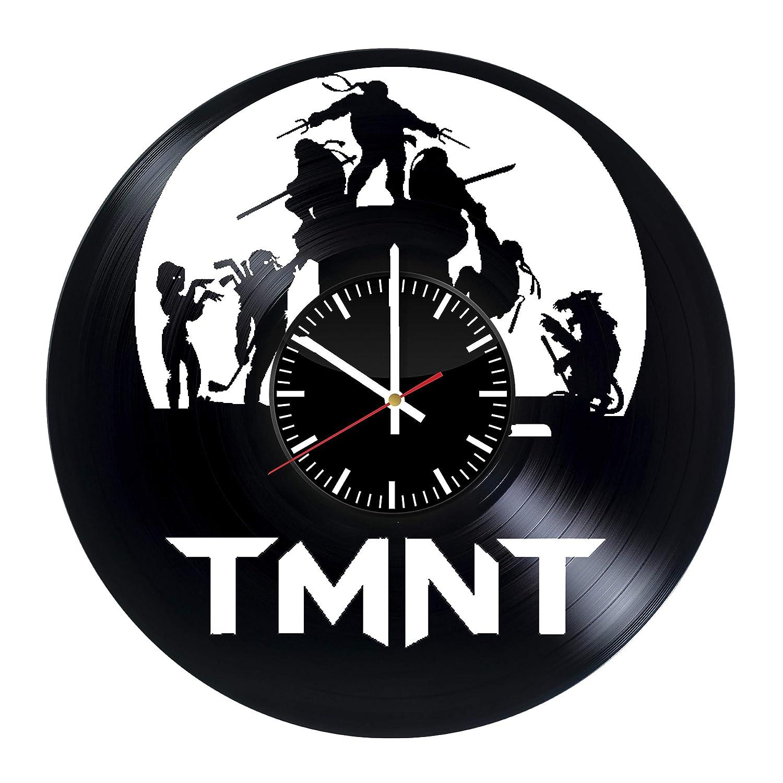 Amazon.com: Ninja Turtles Vinyl Clock - Teenage Mutant Ninja ...