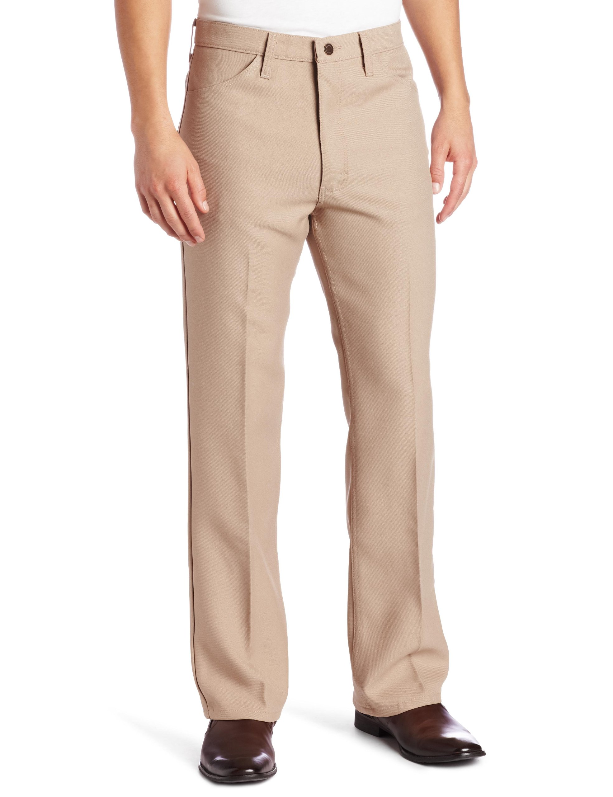 Wrangler Men's Wrancher Dress Pant,Dark Beige,38x31
