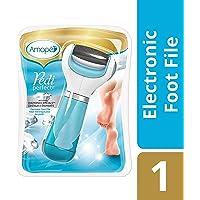 Amopé Pedi Perfect Foot File – Aparato electrónico para Pedicure – Grueso regular, Azul