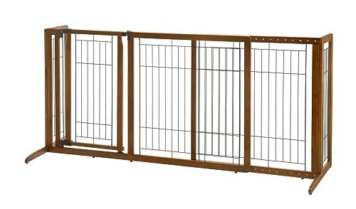 Best Freestanding Dog Gate: Richell Deluxe Freestanding Pet Gate