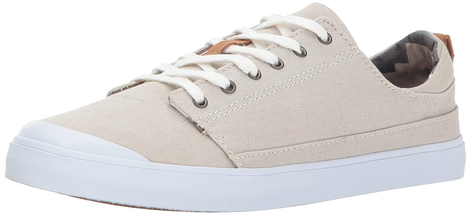 Reef Women's Girls Walled Low Fashion Sneaker B01MTYZK3E 9 B(M) US|Silver/Grey