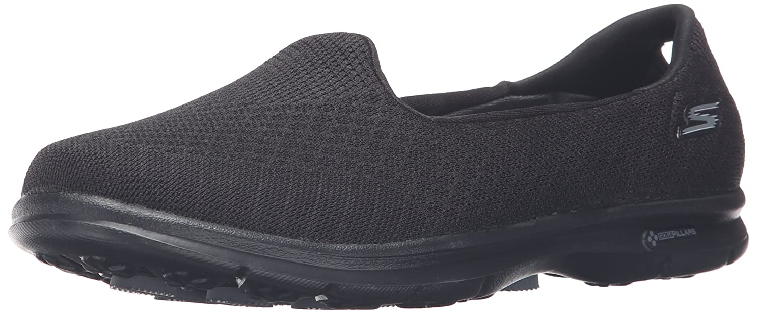 Skechers Go Step-Elated Damen Sneaker Slipper Schwarz  38 EU|Schwarz